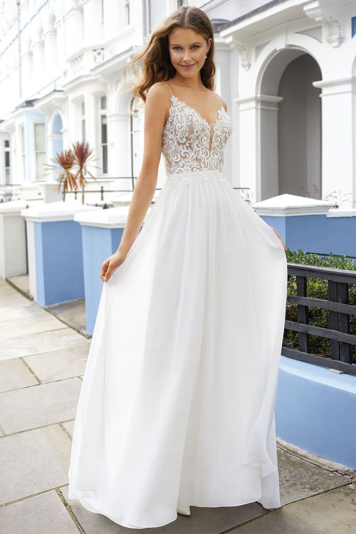Abito da Sposa Lillian West 11107 by Justin Alexander