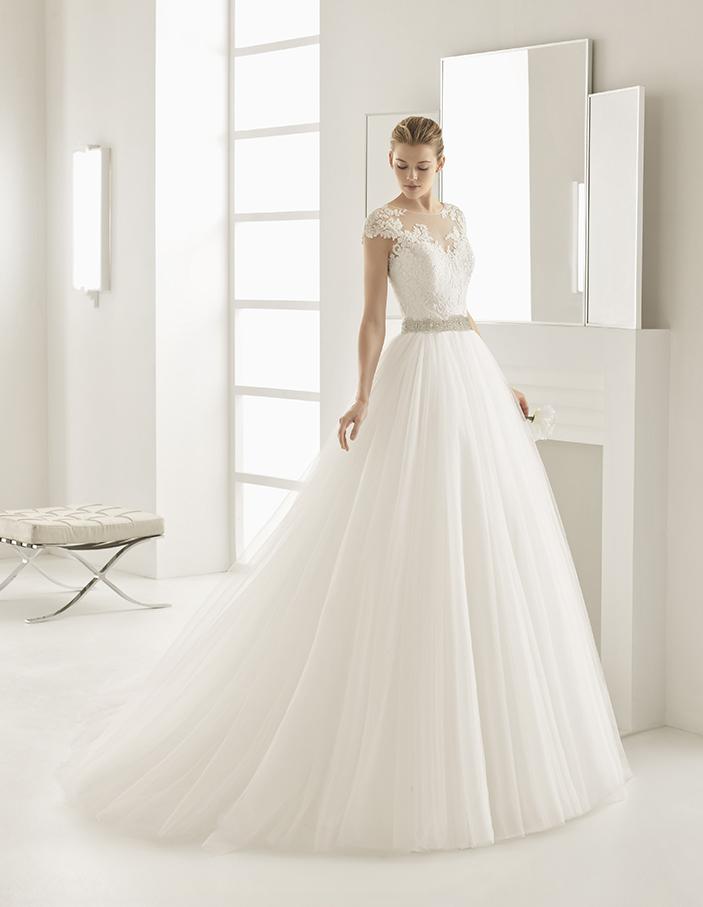 Vestito da Sposa Olivera by Rosa Clarà