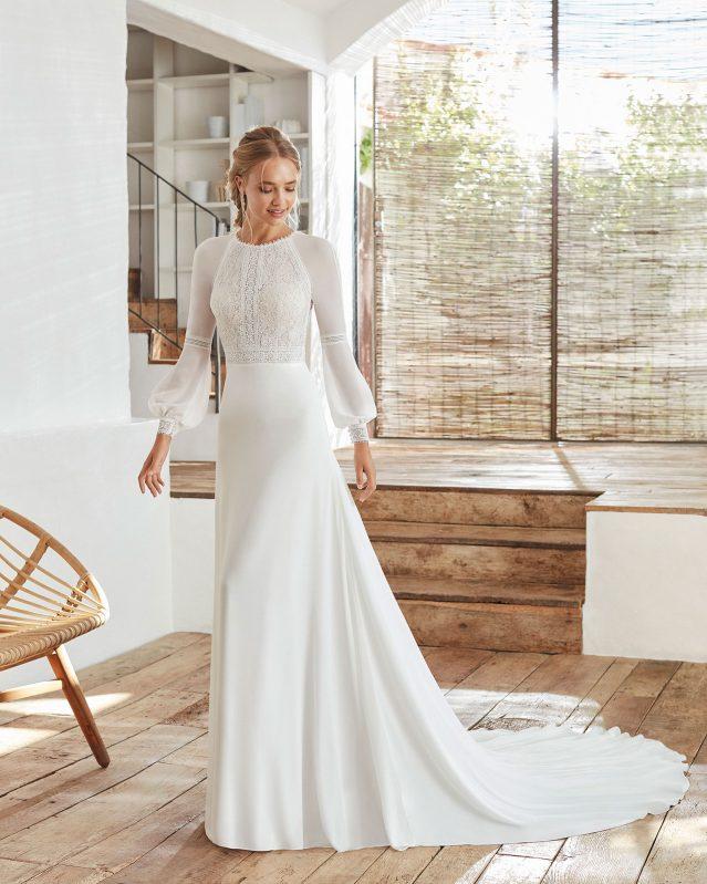 Vestito da Sposa Lunanovias Calanda by Rosa Clarà