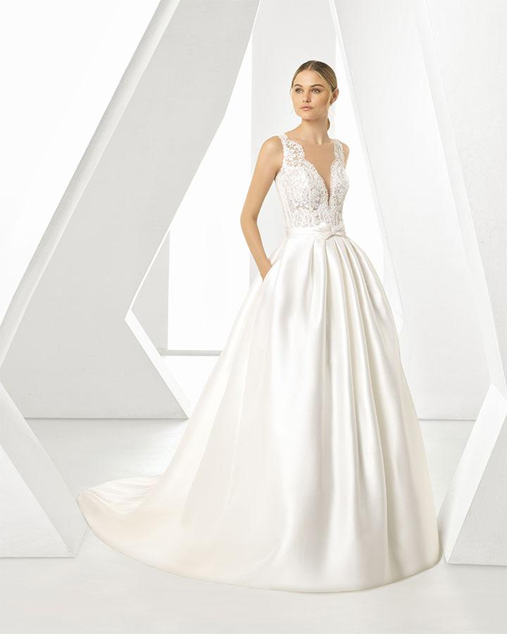 Vestito da Sposa Dorano by Rosa Clarà
