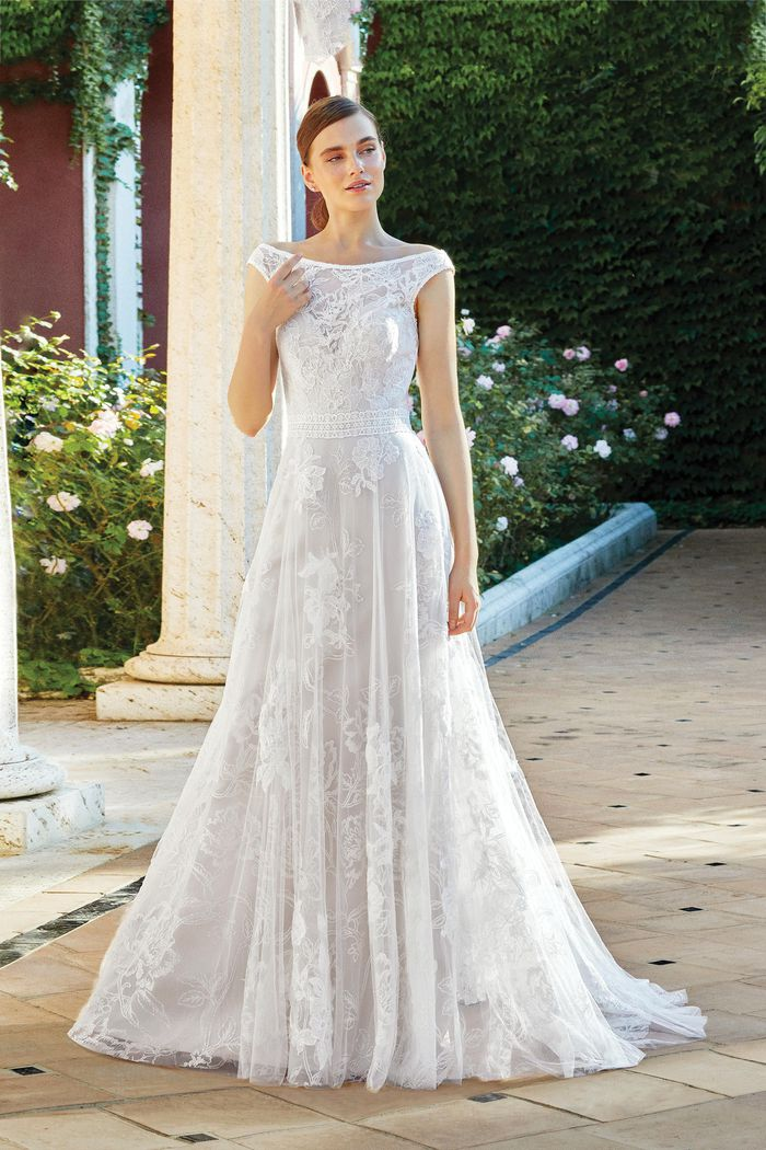 Abito da Sposa Lillian West 44219 by Justin Alexander