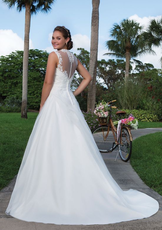 Vestito da Sposa 6125 by Justin Alexander