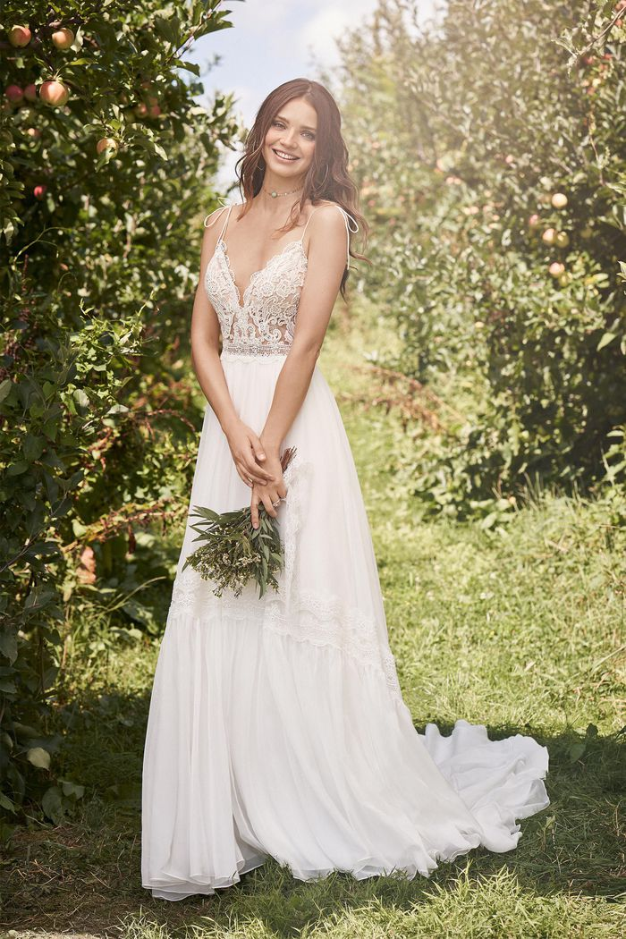 Abito da Sposa Lillian West 66137 by Justin Alexander