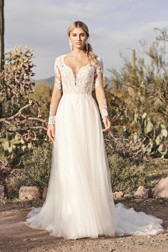 Vestito da Sposa 66157 by Lillian West