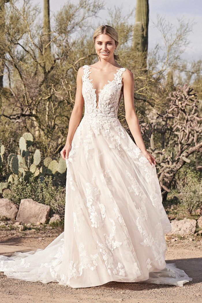 Vestito da Sposa 66163 by Lillian West