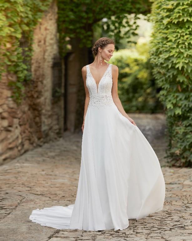 Vestito da Sposa Megan by Rosa Clarà