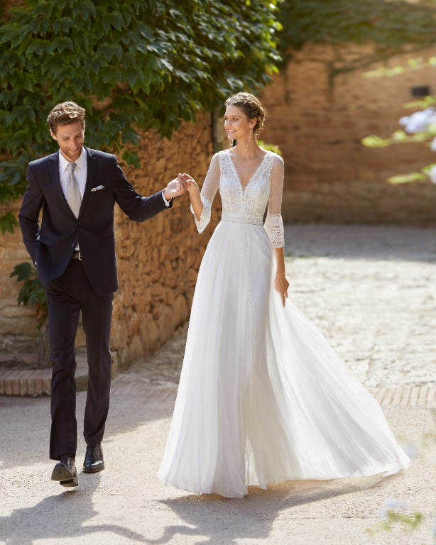 Vestito da Sposa Mikael by Rosa Clarà