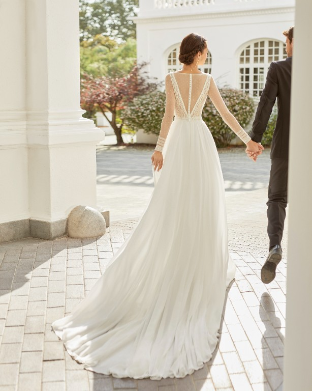 Vestito da Sposa Safic by Rosa Clarà