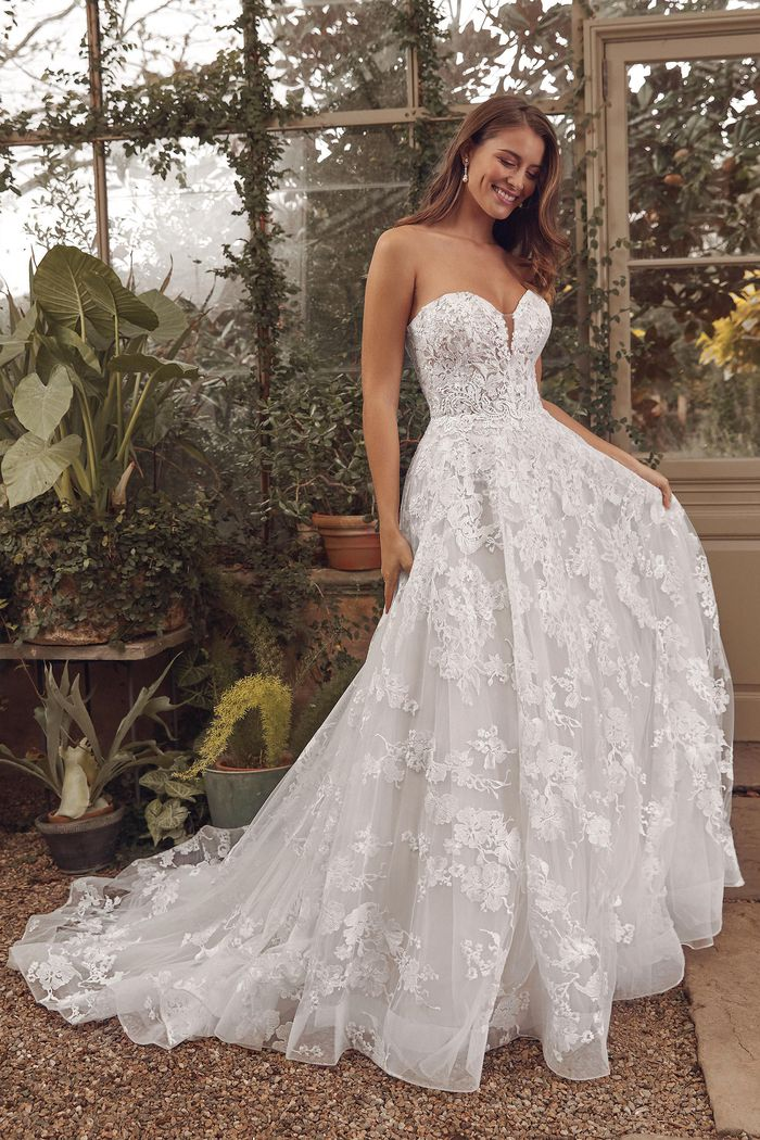 Vestito da Sposa Lillian West 88142 by Justin Alexander