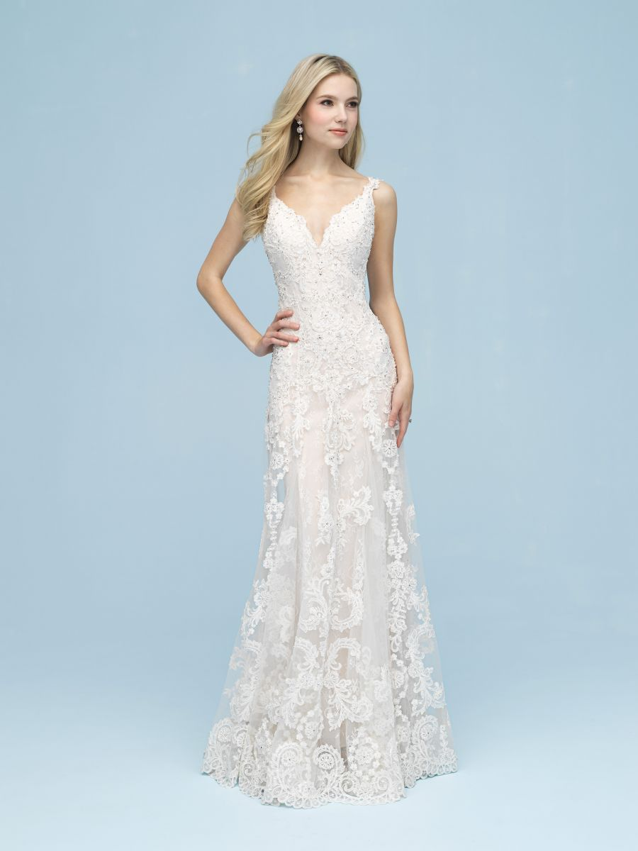 Vestito da Sposa 9621 by Allure Bridals