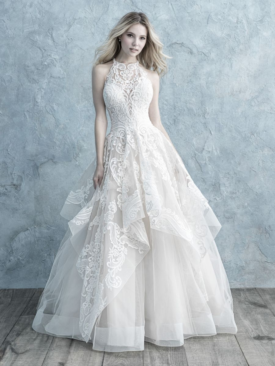 Vestito da Sposa 9652 by Allure Bridals