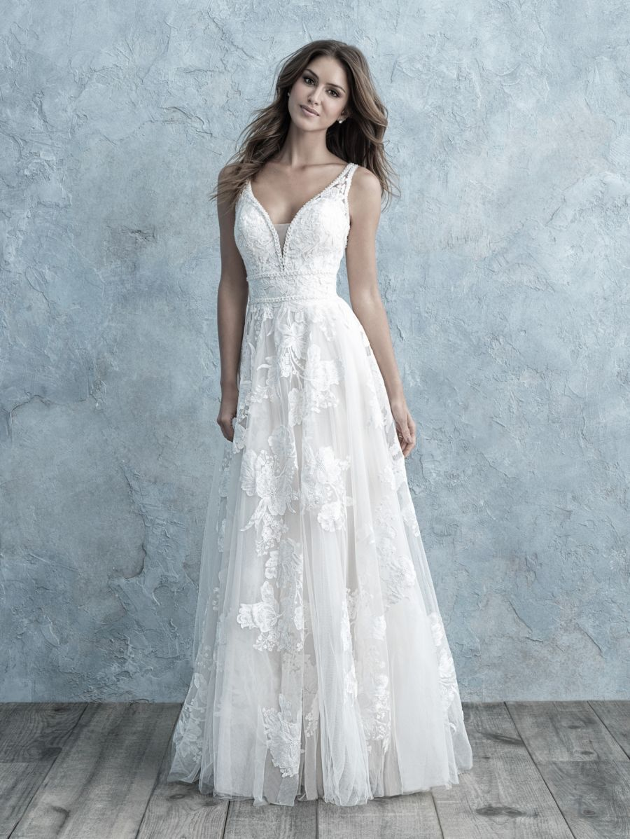 Vestito da Sposa 9657 by Allure Bridals