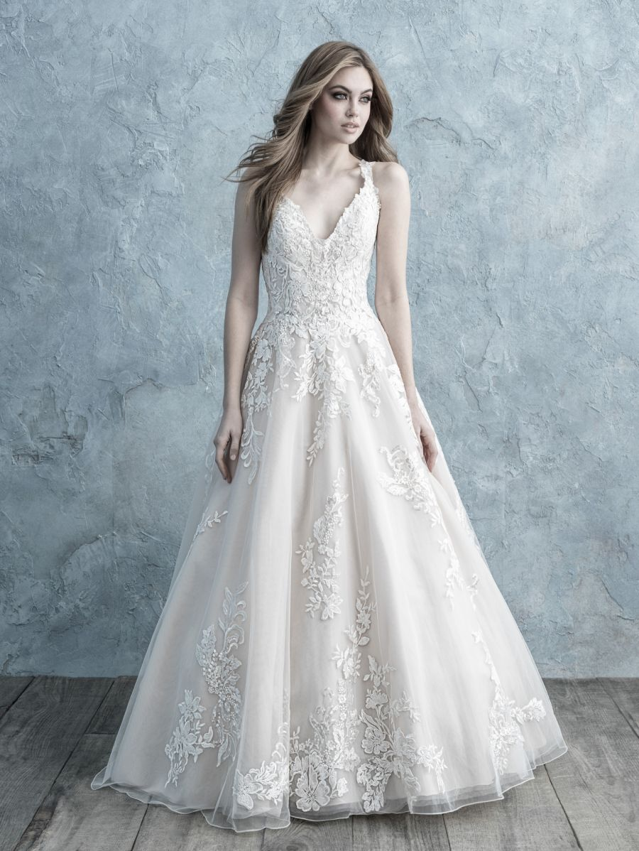 Abito da Sposa 9679 by Allure Bridals