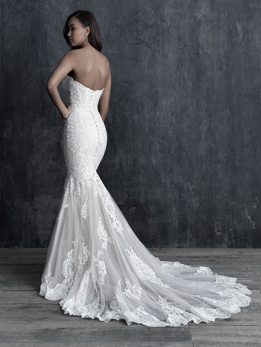 Vestito da Sposa C545 by Allure Bridals
