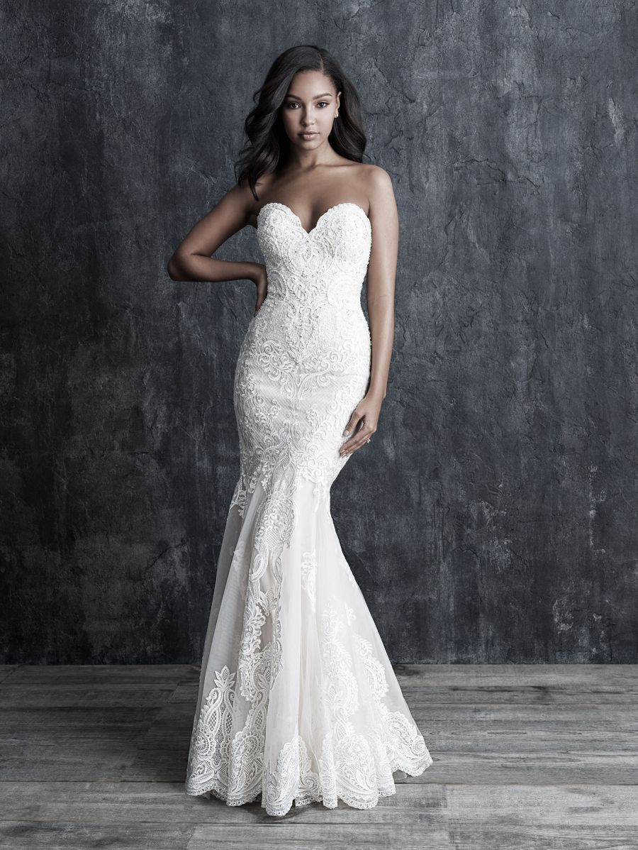 Abito da Sposa C545 by Allure Bridals