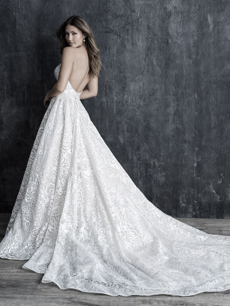 Vestito da Sposa C549 by Allure Bridals