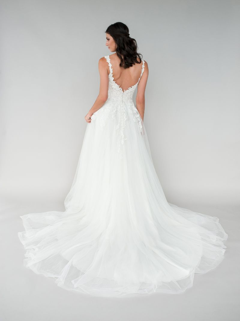 Vestito da Sposa L460 by Allure Bridals