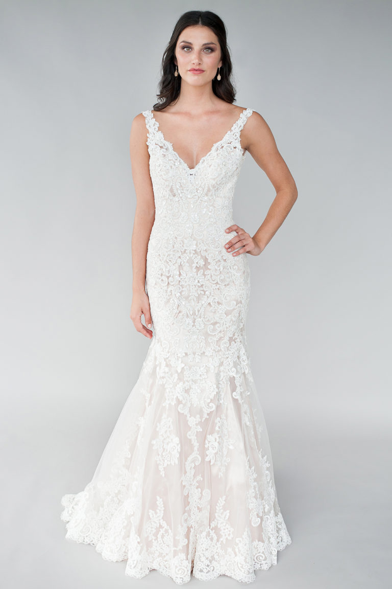 Vestito da Sposa L465 by Allure Bridals