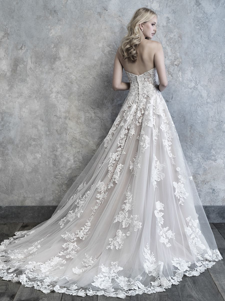 Abito da Sposa MJ516 by Allure Bridals
