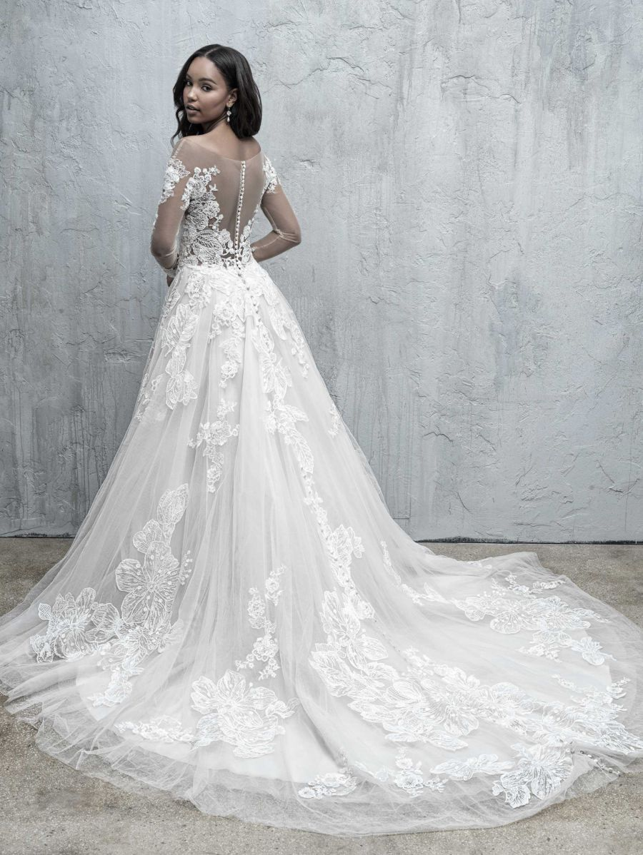 Vestito da Sposa MJ552 by Allure Bridals