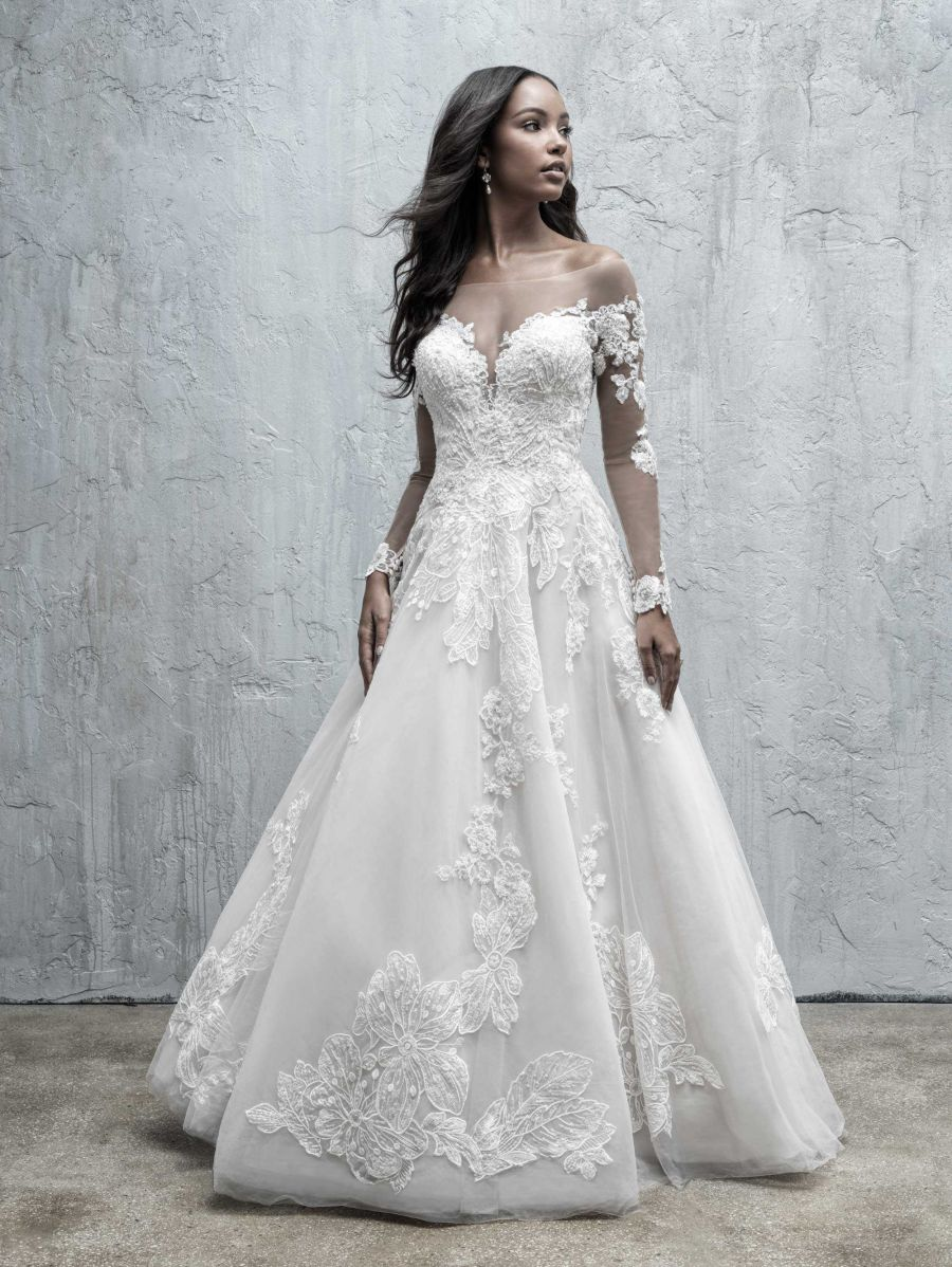 Abito da Sposa MJ552 by Allure Bridals