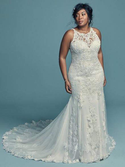 Vestito da Sposa Taglie Generose Kendall Lynette by Maggie Sottero