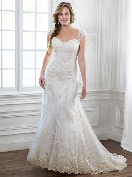 Vestito da Sposa Taglie Generose Emma Lynette by Maggie Sottero