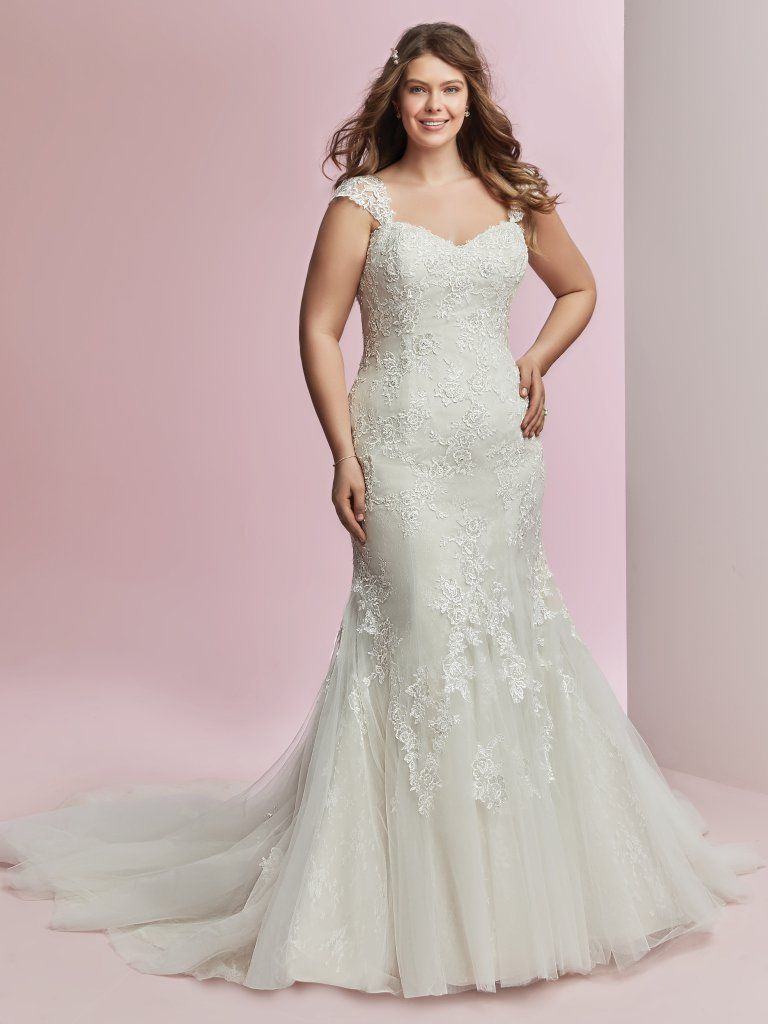 Abito da Sposa Plus Size Amber Lynette by Rebecca Ingram
