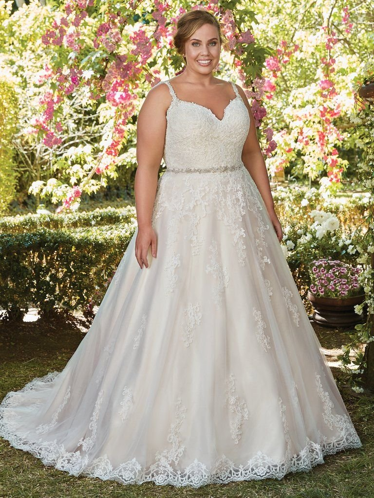 Abito da Sposa Plus Size Allison Curve by Rebecca Ingram