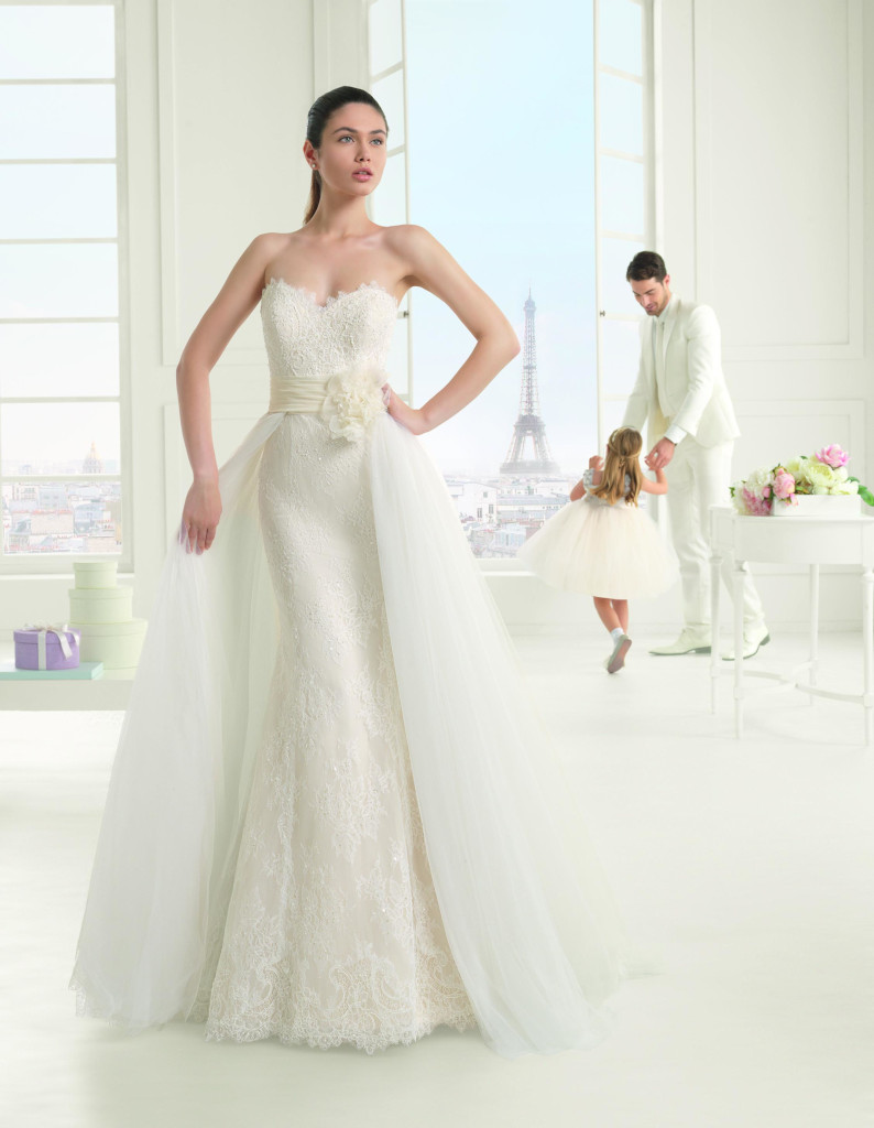 Abito da Sposa Eva Two by Rosa Clarà