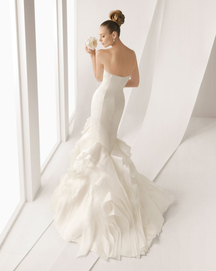 Vestito da Sposa Agnes by Rosa Clarà
