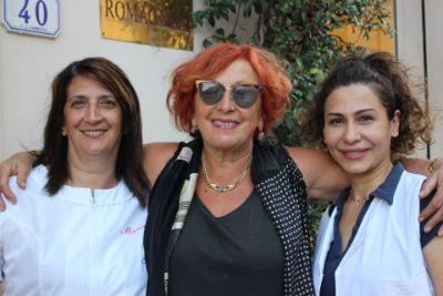 Loretta e le sarte della Romagnoli Wedding House