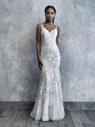 Abito da Sposa MJ520 by Allure Bridals colore Nude