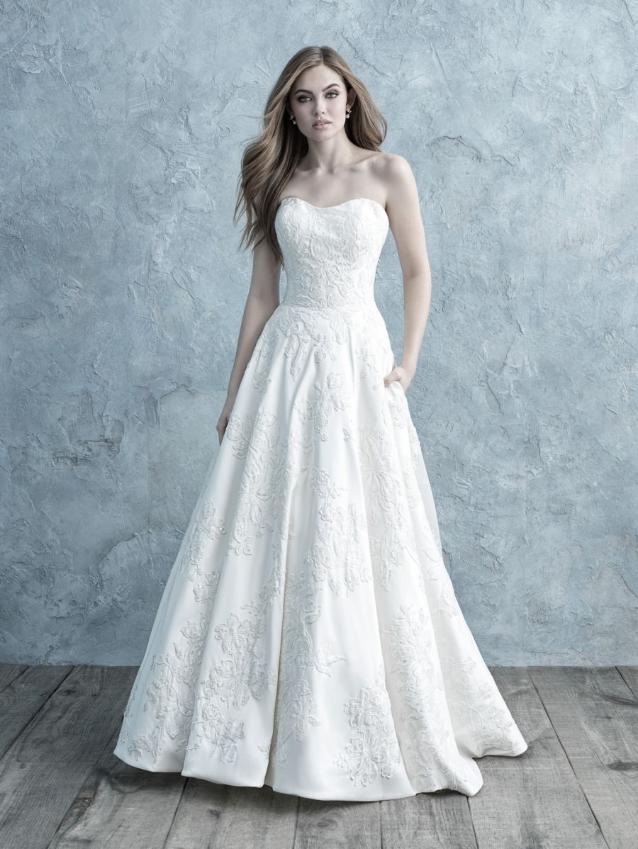 Abito da Sposa 9650 by Allure Bridals